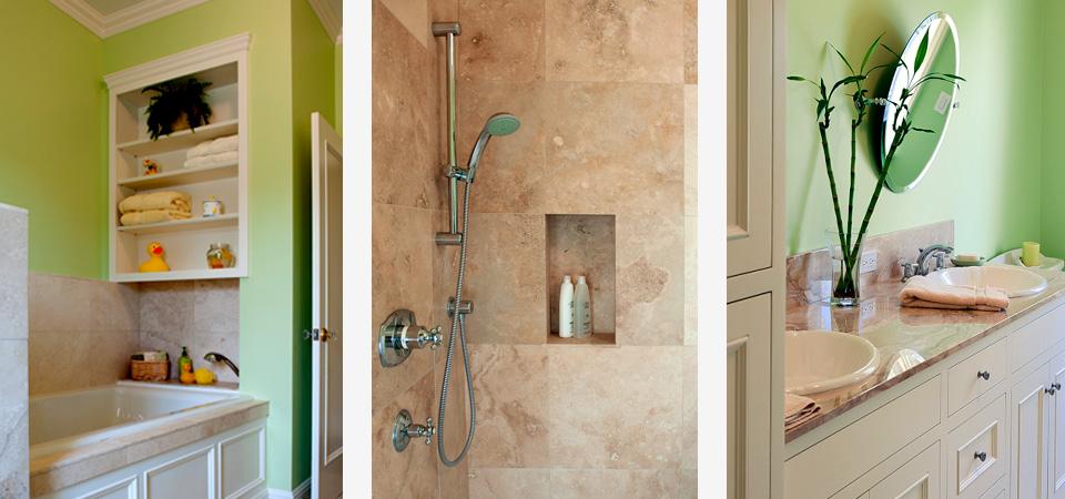 custom designed bathroom
