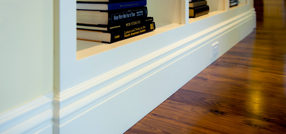 baseboard and wood floor detail